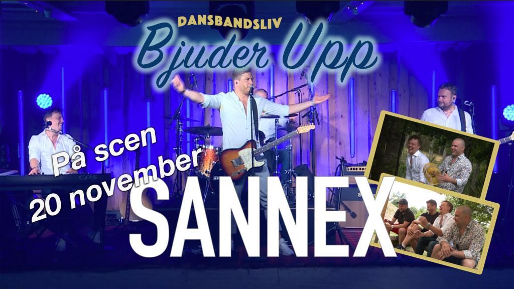 """Dansbandsliv """"Bjuder upp"""" - Sannex"""