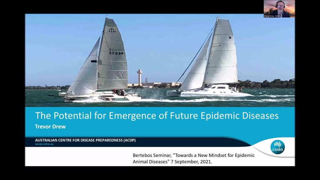 Trevor Drew - The Potential for Emergence of Future Epidemic Disease Problems