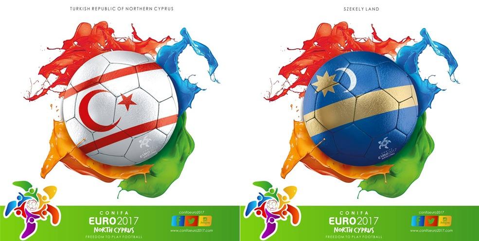 CONIFA Euro 2017: Semifinal North Cyprus FF - Szekelyföld LE