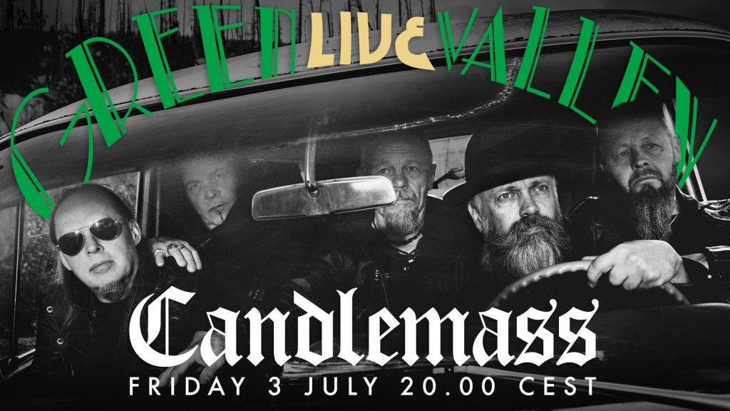 Candlemass - LIVE from Studio Gröndahl