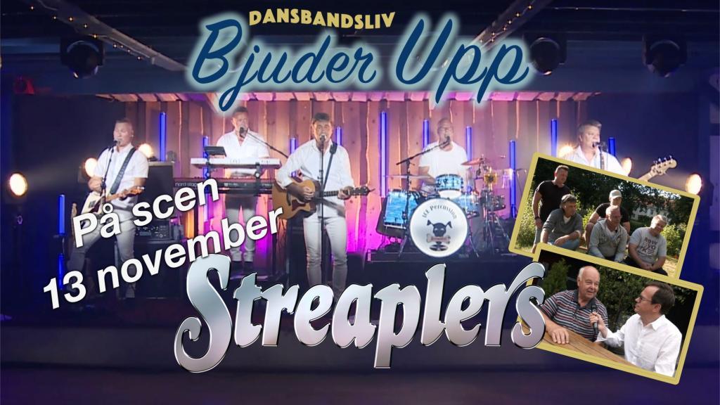 """Dansbandsliv """"Bjuder upp"""" - Streaplers"""