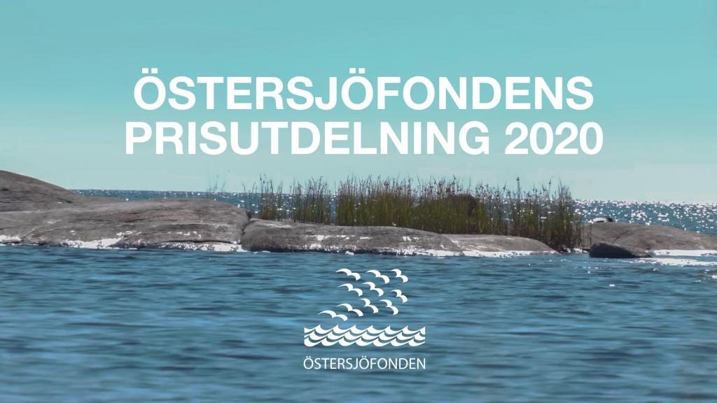 Östersjöfondens Prisutdelning 2020