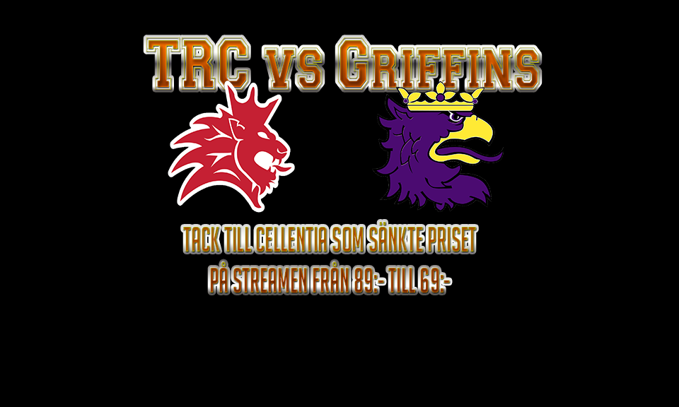 Tyresö Royal Crowns vs Limhamn Griffins - 27 Jun 19:09