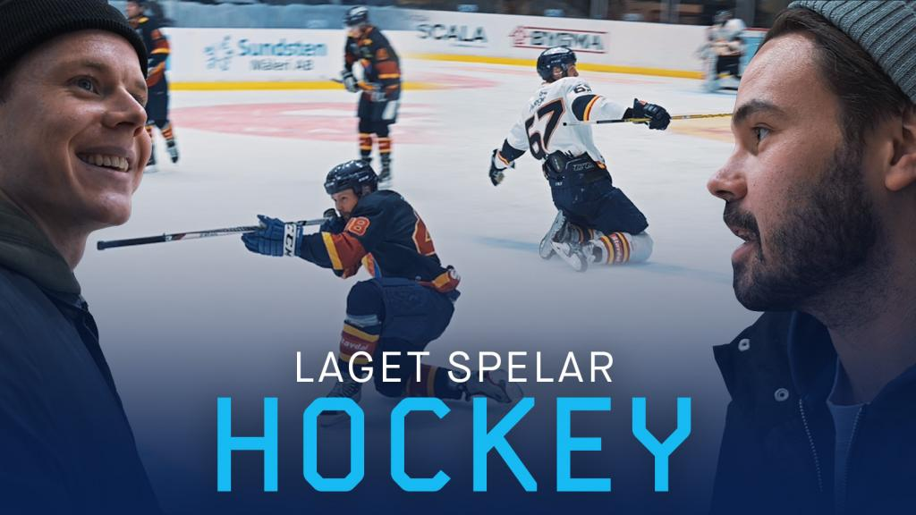 Laget spelar hockey på Hovet