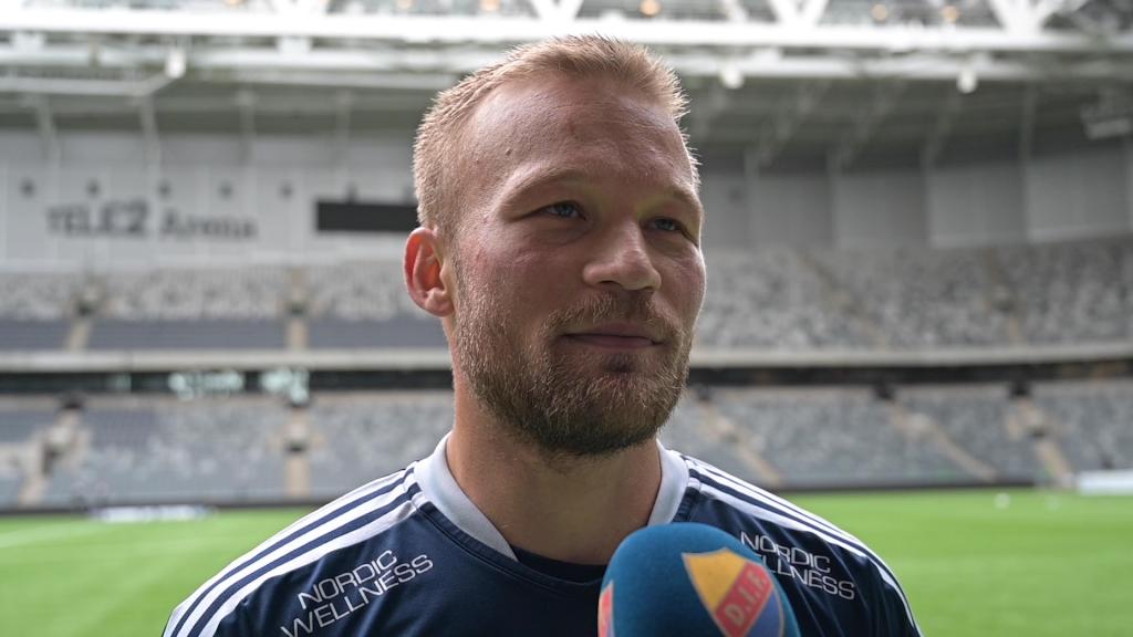 Nicklas Bärkroth och Kim Bergstrand inför Djurgården - Degerfors