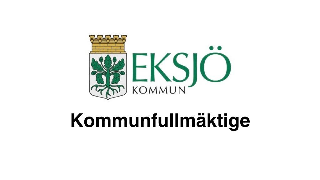 26 september Eksjö kommunfullmäktige
