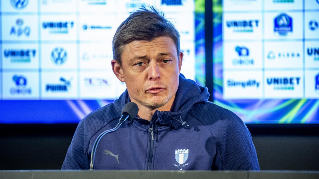 Presskonferensen efter Malmö FF – Hammarby IF