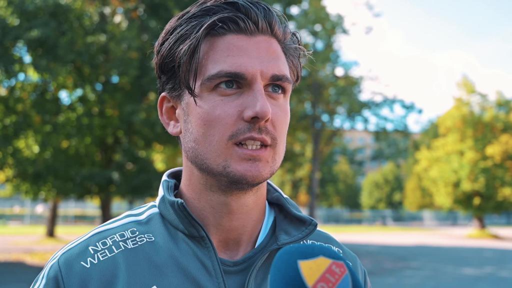 Magnus Pålsson och Jean Balawo inför Linköping borta