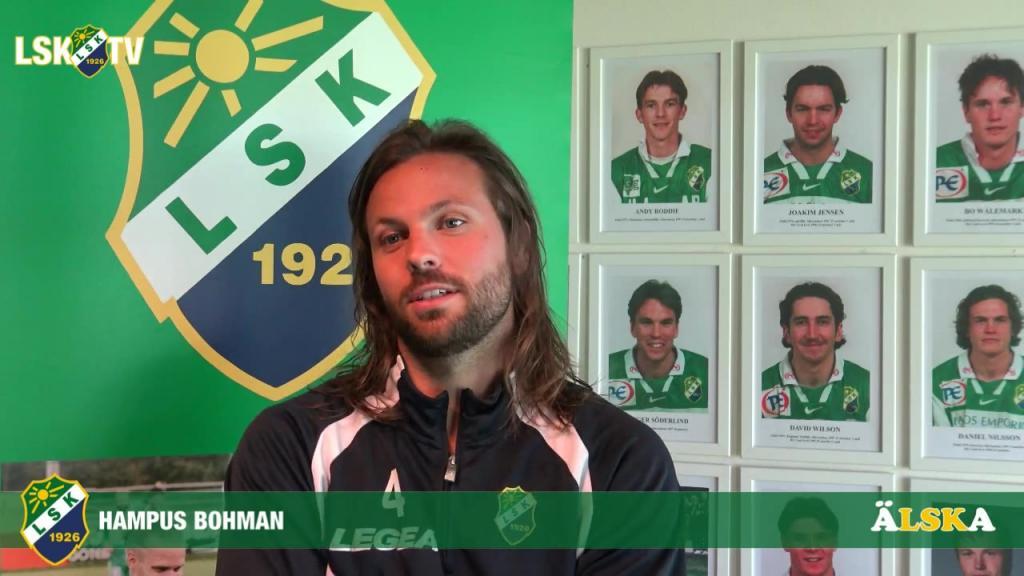 Hampus Bohman, matchens LSK-profil mot FC Rosengård