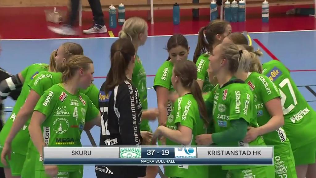 SHE High-lights Skuru IK vs. Kristianstad HK den 21 oktober 2018