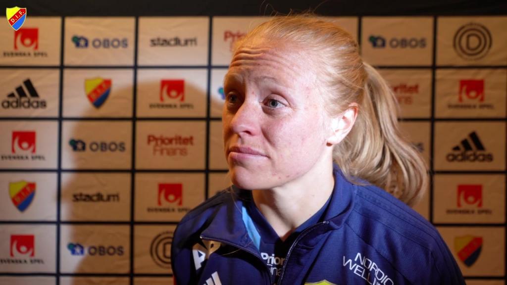 Mia Jalkerud ger en klarsynt analys av matchen