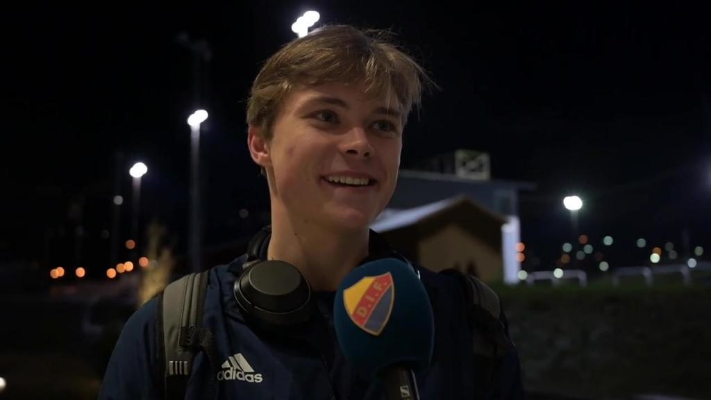 Tävlingsdebut för Linus Tagesson i A-laget
