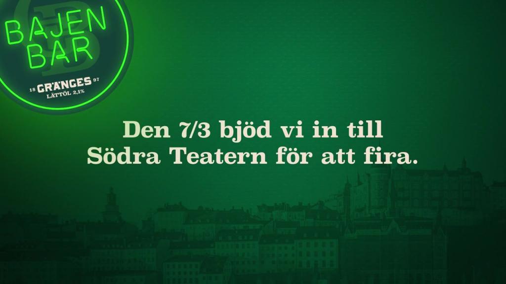 Se filmen från Gränges 123-årsfirande!