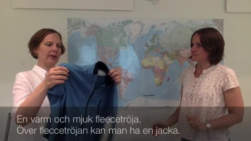 Kläder på förskolan