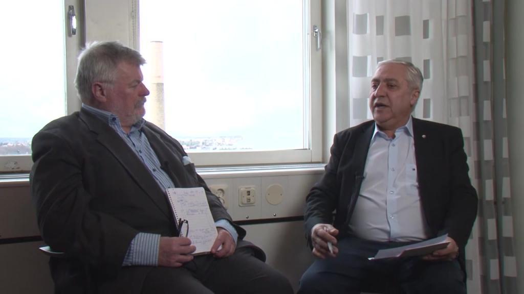 Simon safari ordf för hgf region stockholm intervjuas om upprustningsvågen i stockholmsregionen