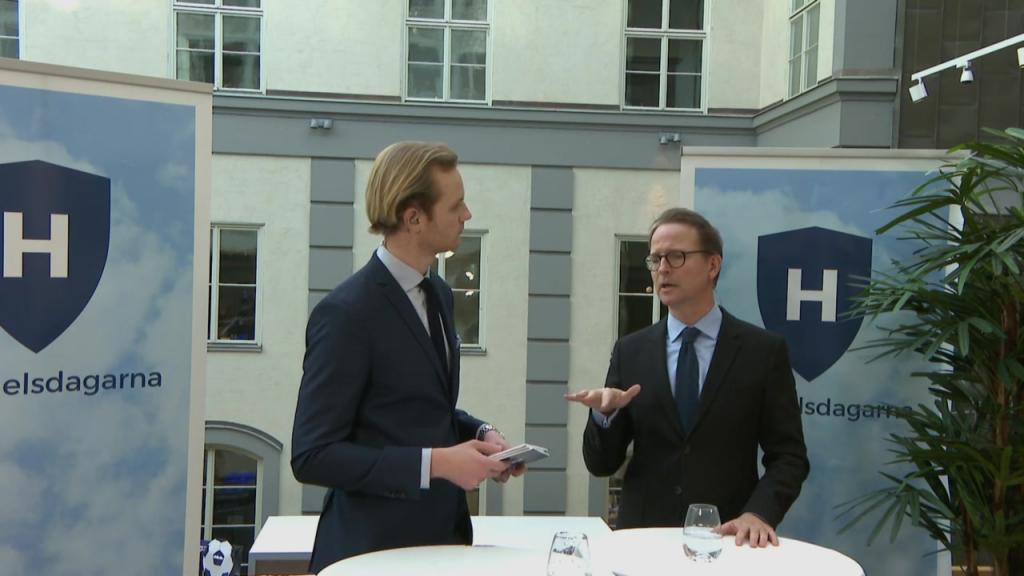 Interview with Lars Strannegård, President of SSE - Handelsdagarna 2018