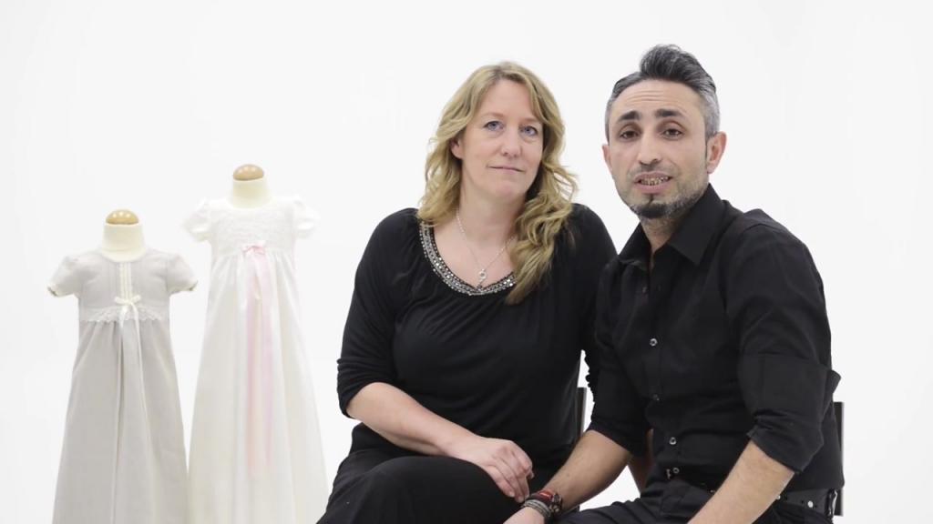 Grace of Sweden erbjuder dopkläder utöver det vanliga