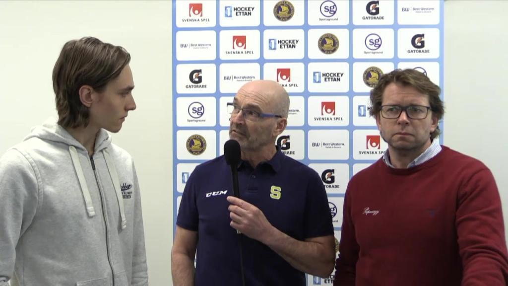 Presskonferens: Troja-Ljungby - Södertälje