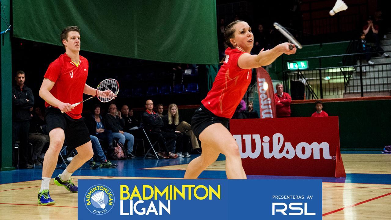 Fyrisfjädern Badminton - Påvelund Bana 2 - Badmintonligan