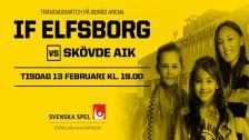 IF Elfsborg – Skövde AIK (träningsmatch)
