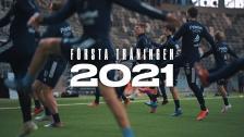 Första träningen 2021