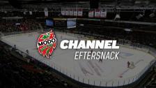 Eftersnack i MODO Channel Premium efter matchen mot Oskarshamn