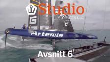 Extrem manöver ger Artemis övertag!