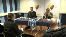 Presskonferensen efter Djurgården-GAIS 2012