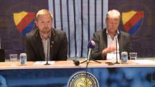 Presskonferensen efter Djurgården - Helsingborg 2012