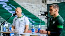 Presskonferens med Stefan och Jeppe inför Puskas