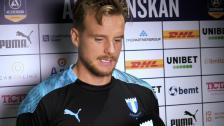 Eric Larsson efter 3-0 mot BK Häcken