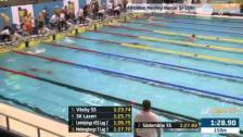 56 4X100m Medley Herrar Sr Heat 2 SM/JSM 25m 2015
