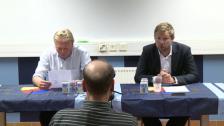 Presskonferensen efter Elfsborg 2012