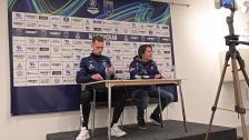 Presskonferensen efter Sirius - Djurgården