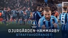 Djurgården-Hammarby   Straffavgörandet   Svenska cupen Kvartsfinal