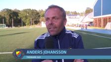 Anders Johansson efter ytterligare en seger över Bajen