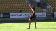 Inför IFE-IFK Viktor Claesson