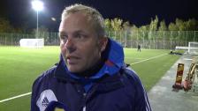 Anders Johansson efter segern mot Sundsvall