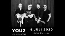 YOU2 Live in concert från Säljö brygga
