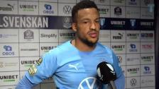 Martin Olsson efter hemmamatchen mot Djurgården