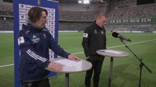 Presskonferensen efter Djurgården-Hammarby