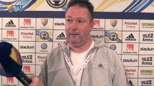 Henrik Berggren efter derbyt