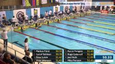 48 100m Frisim Herrar Försök SM/JSM 25m 2015