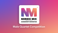 Male Quartet Competition (Semifinals)