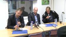 Presskonferensen efter Åtvidaberg-Djurgården 2012