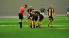 Sammandraget av damlagets match mot FC Flora