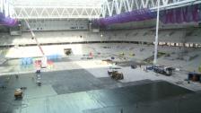 Ny visning av Tele2 Arena