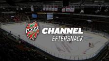 Eftersnack i MODO Channel Premium efter fredagens match mot VIK