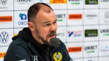 Presskonferensen efter 2-2 mot Malmö FF