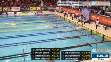 50 400m Medley Herrar Försök SM/JSM 25m 2015